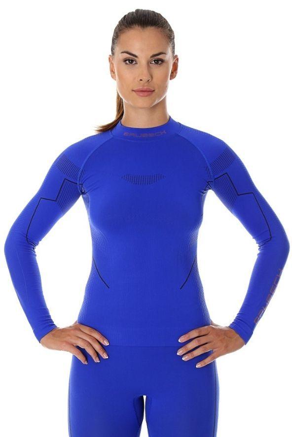 Brubeck Koszulka termoaktywna damska Thermo niebieska r. M (LS13100) 1