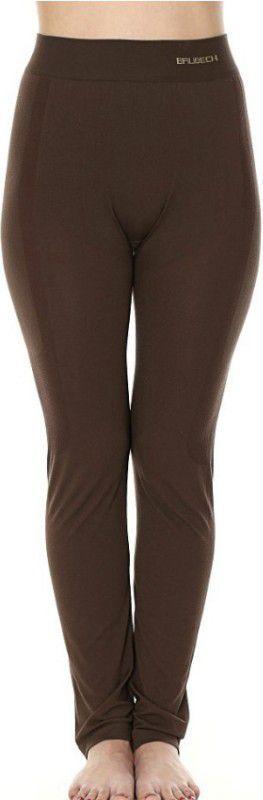 Brubeck Spodnie damskie COMFORT NIGHT r.S brązowe (LE11780) 1