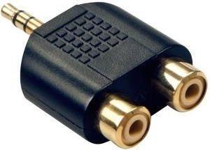 Adapter AV Lindy 2 x RCA - 3.5mm (35624) 1