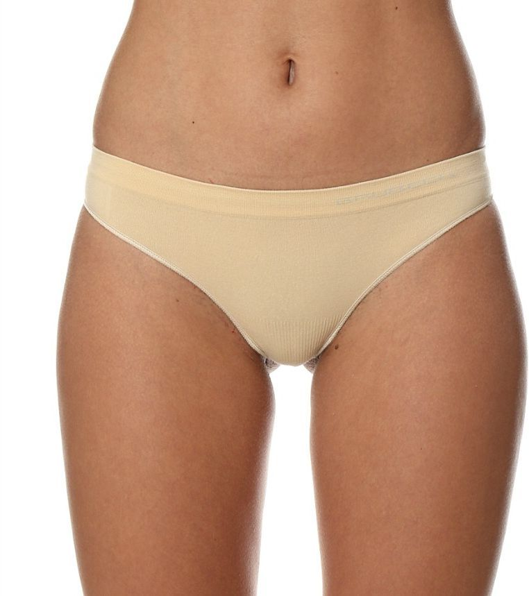 Brubeck Stringi damskie TH00182A Comfort Cotton beżowe r. S 1
