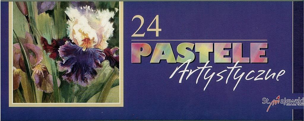 St. Majewski Pastele artystyczne 24 kolory 1