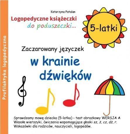 Zaczarowany języczek w krainie dźwięków 5 latki 1