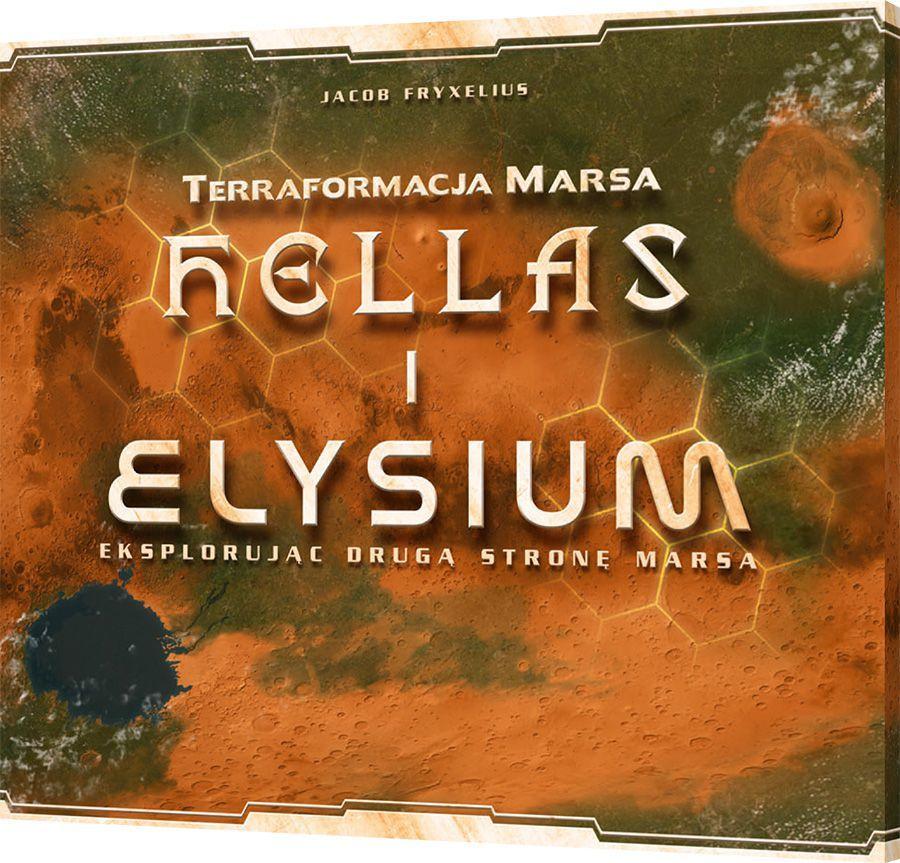 Rebel Gra planszowa Terraformacja Marsa: Hellas i Elysium (249634) 1