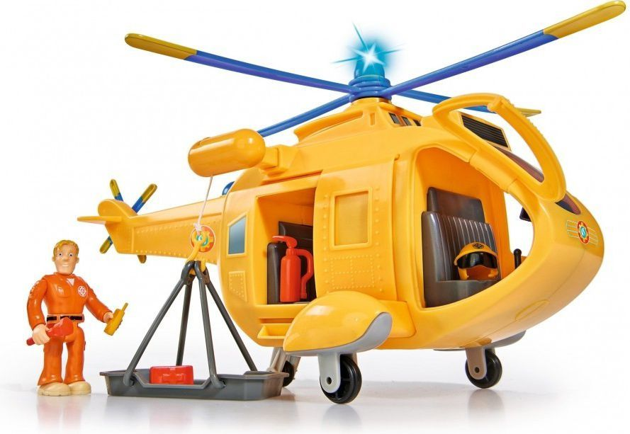 Simba Helikopter Wallaby 2 z figurką Strażak Sam 1