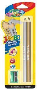 Colorino Kredki ołówkowe 2 kolory okrągłe Jumbo z temperówką (WIKR-979018) 1