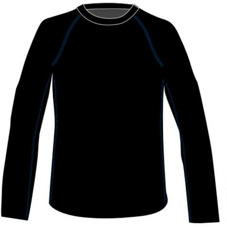 Martes Koszulka juniorska RAVO JR czarna r. 158 ID produktu: 1506489