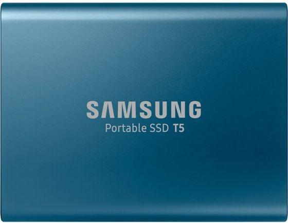 Dysk zewnętrzny Samsung SSD T5 500 GB Niebieski (MU-PA500B/EU) 1