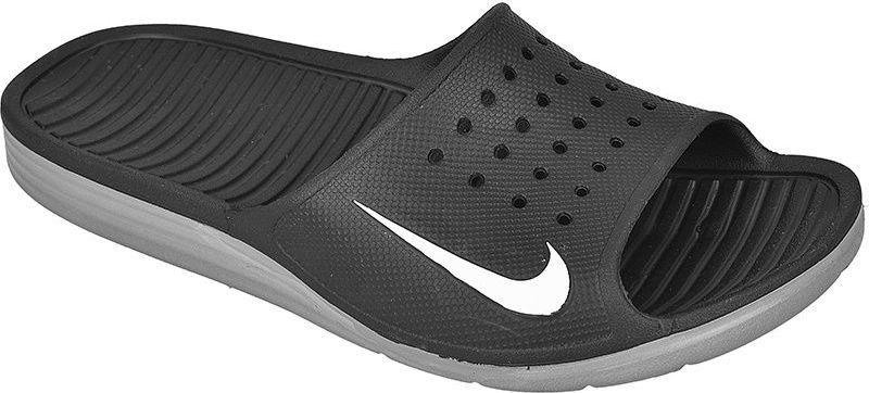 Hurt przytulnie świeże oficjalny sklep Nike Klapki męskie Sportswear Solarsoft Slide czarne r. 41 (386163-011) ID  produktu: 1507935