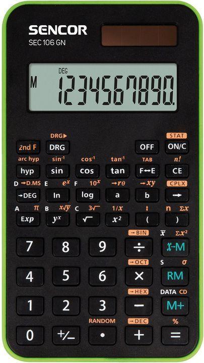 Kalkulator Casio SEC 106 GN 1