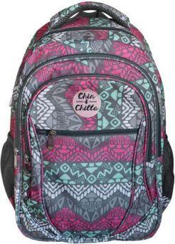 716ca7576d3cb Incood Plecak trzykomorowy Chin&Chilla szaro-turkusowo-różowy (0006-0012) w  Morele.net