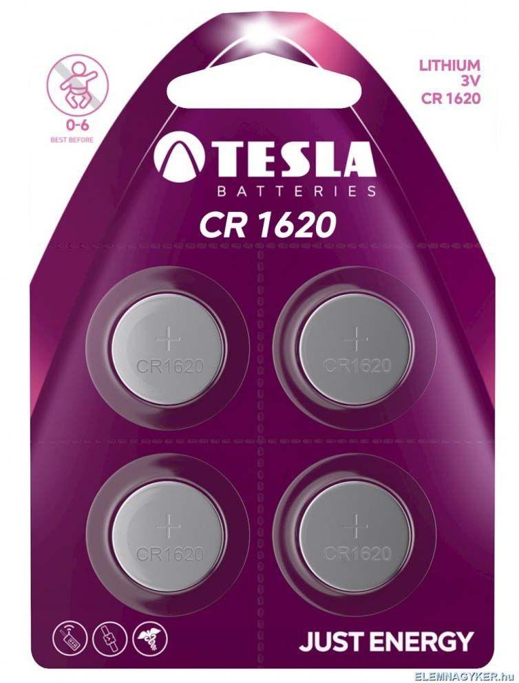 Tesla Bateria CR1620 4szt. 1