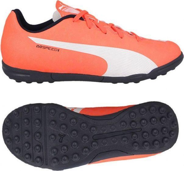 Puma EVO SPEED 5.4 TT JR Buty turf juniorskie pomarańczowe r. 30 (15183) ID produktu: 1522220
