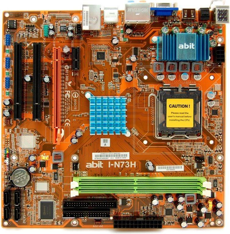 Abit I-N73H Realtek HD Audio Windows 8