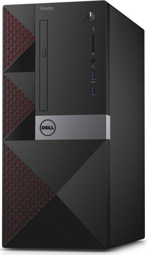 Komputer Vostro Core i5-7400, 4 GB, Intel HD Graphics 630, 256 GB SSD 2 TB HDD Windows 10 Pro 1