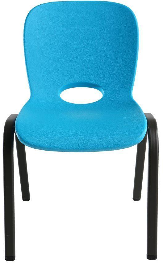 Lifetime Półkomercyjne krzesło dla dzieci do piętrowania (niebieski) (80392) 1