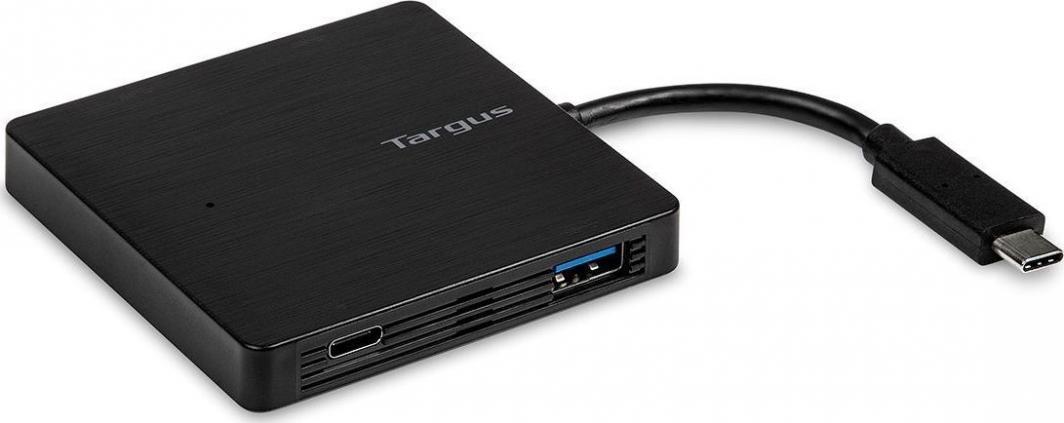 HUB USB Targus TARGUS USB-C Hub To 3x USB-A and 1x USB-C Battery Charge Black (B2b) - ACH924EUZ 1