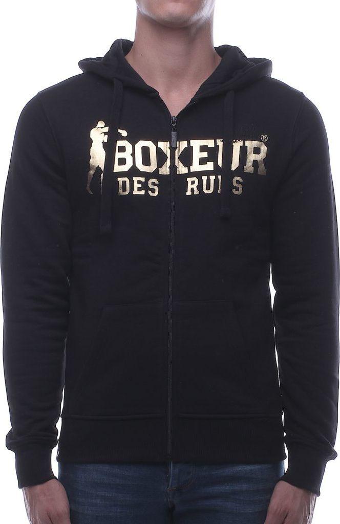 BOXEUR Bluza męska czarno złota r. XS (BXE 4784F) ID produktu: 1542578