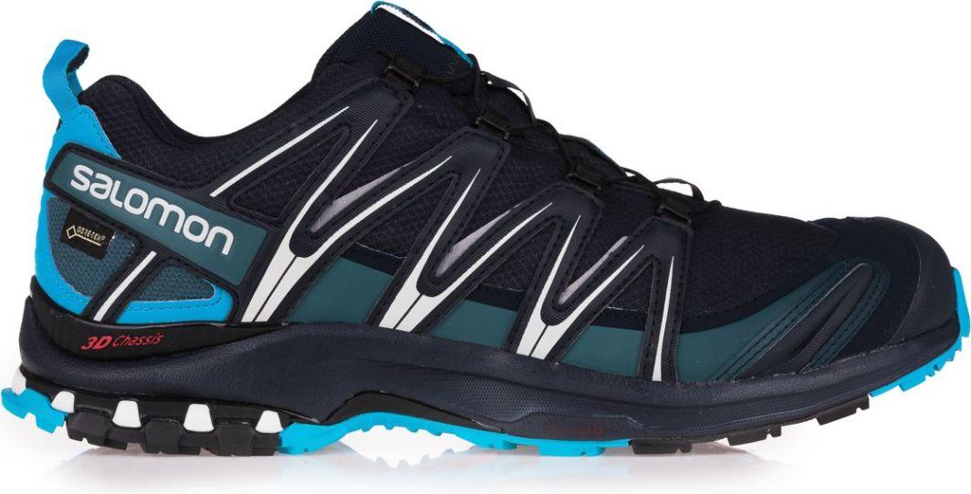 Salomon Buty biegowe XA PRO 3D GTX M czarno niebieskie r. 44 23 (L39332000)