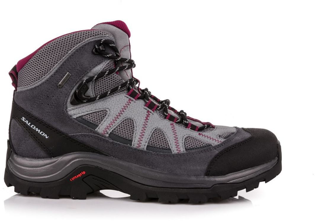 Salomon Buty damskie Authentic LTR GTX Pearl GreyGrey DenomMystic Purple r. 38 23 (373261) ID produktu: 1546290