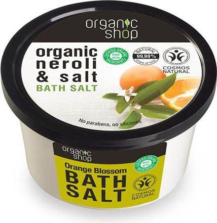Organic Shop Sól do Kąpieli, Kwiat Gorzkiej Pomarańczy 250ml 1