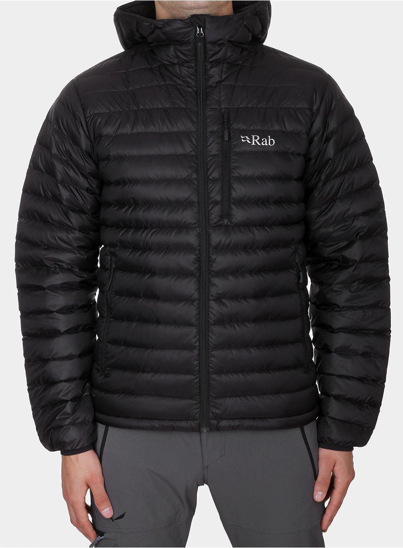 RAB Męska Kurtka Puchowa Microlight Alpine Jacket Czarna r. XL ID produktu: 1550016