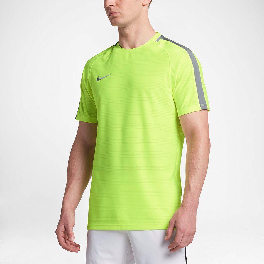 Nike Koszulka męska Dry SQD Top SS DN żółta r. M (844376 702)