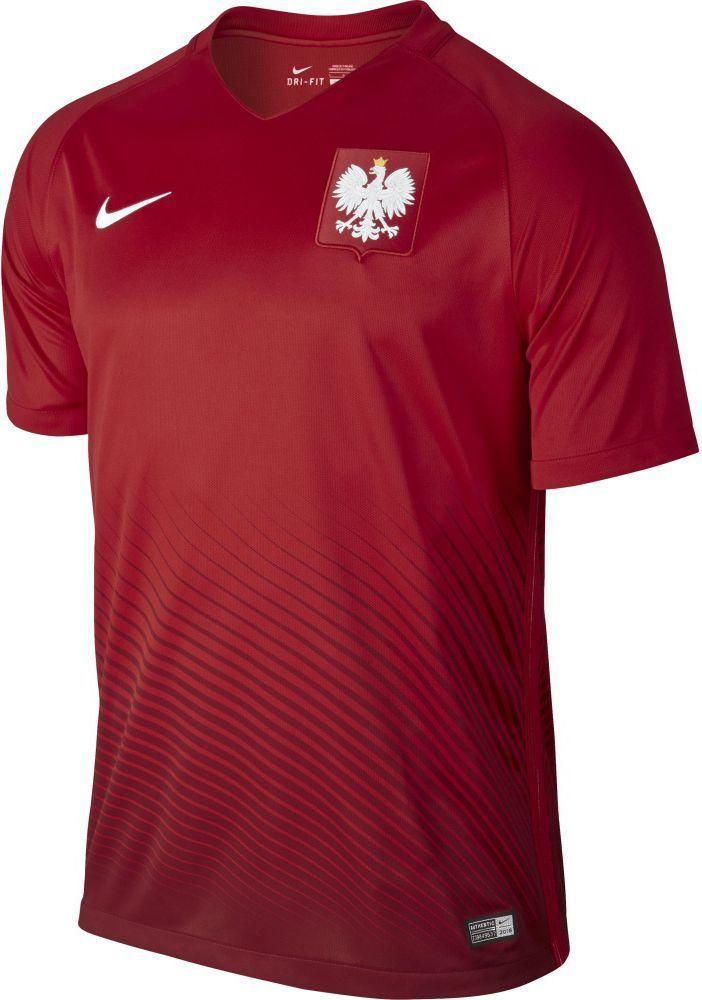 735801c9a Nike Koszulka piłkarska Reprezentacji Polski Away Stadium JSY czerwona r. S  (724633 611) w Sklep-presto.pl
