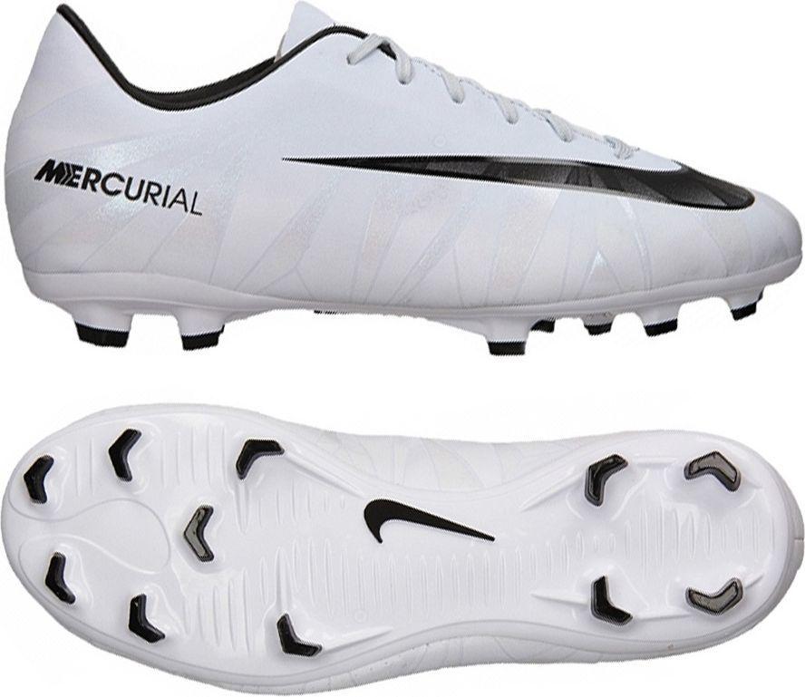 4a7ec0783 Nike Buty piłkarskie JR Mercurial Victory VI CR7 FG białe r. 28 (852489  401) w Sklep-presto.pl