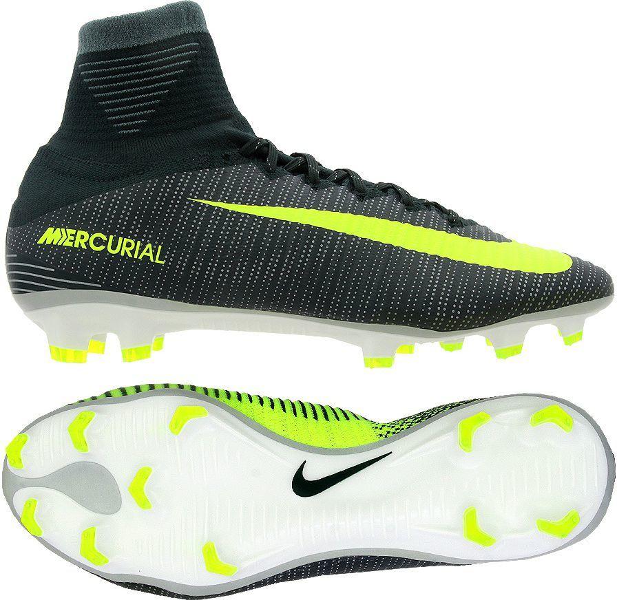 Nike Buty pilkarskie Mercurial Superfly V CR7 FG zielono limonkowe r. 44 (852511 376) ID produktu: 1554709