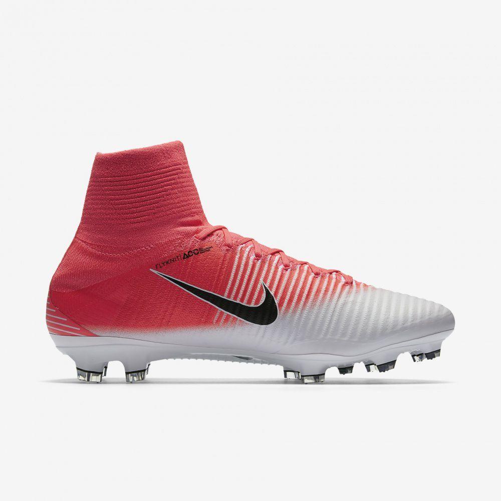 Nowe Buty piłkarskie Nike Mercurial Superfly V FG Czerwone Złoto