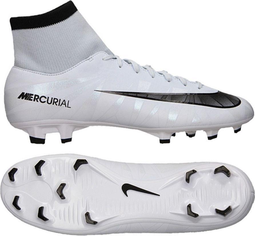 42c8a9176 Nike Buty piłkarskie Mercurial Victory VI CR7 DF FG białe r. 42 (903605  401) w Sklep-presto.pl