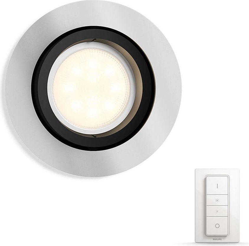 Philips Oświetlenie punktowe White ambiance Milliskin, aluminium (5041148P7) 1