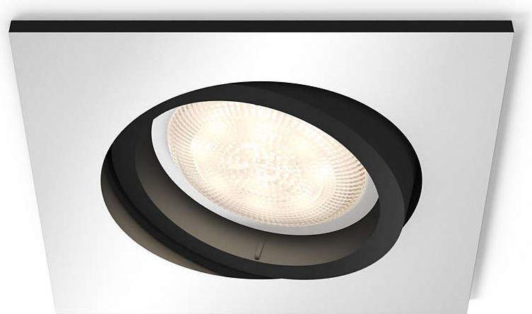 Philips Oświetlenie punktowe White ambiance Milliskin, aluminium (5042148P8) 1