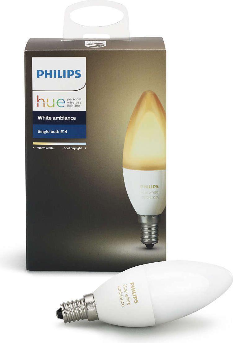 Philips Hue White Ambiance E14, EU 1