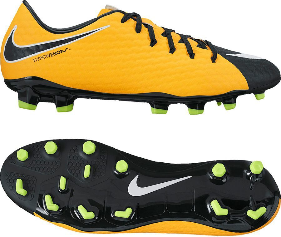 separation shoes 8b28e ce489 Nike Buty piłkarskie Hypervenom Phelon III FG pomarańczowe r. 45.5 (852556  801) w Sklep-presto.pl