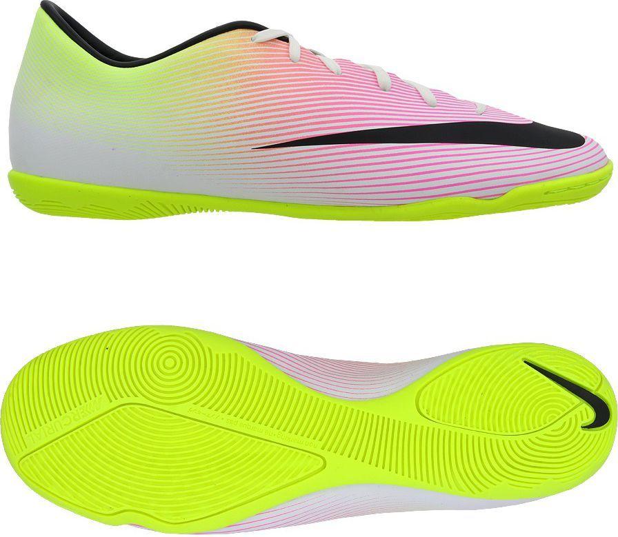 Nike Buty pilkarskie Mercurial Victory V IC białe r. 44.5 (651635 107) ID produktu: 1556663