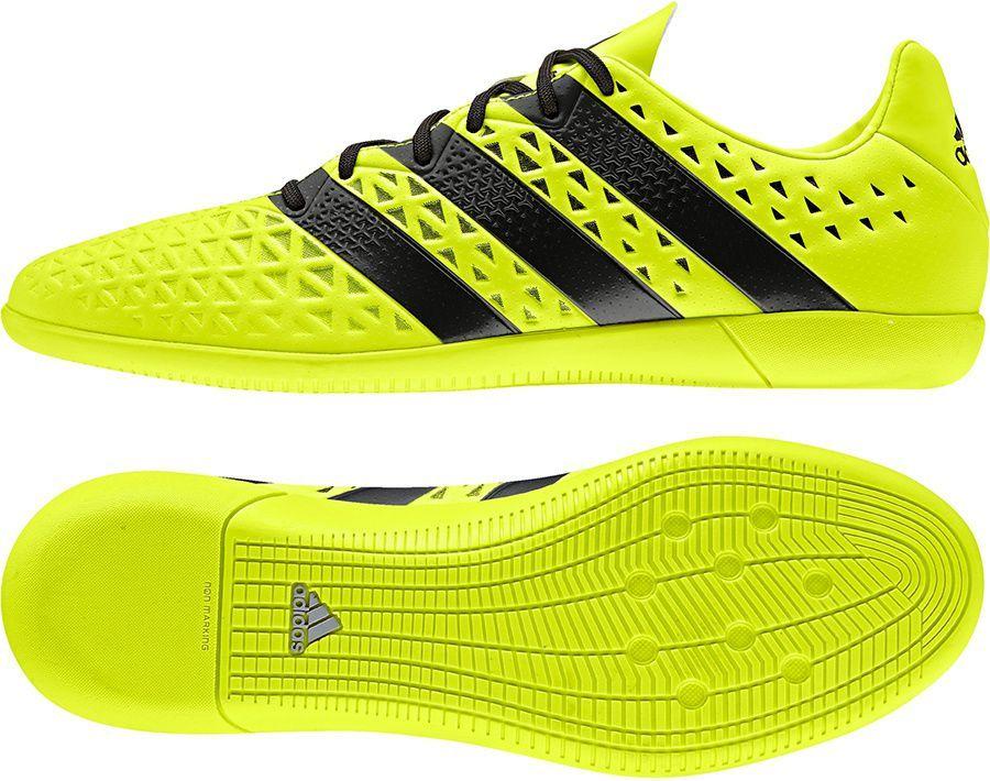 kup sprzedaż oficjalne zdjęcia niezawodna jakość Adidas Buty piłkarskie męskie ACE 16.3 IN żółto-czarne r. 43 1/3 (S31949)  ID produktu: 1559847