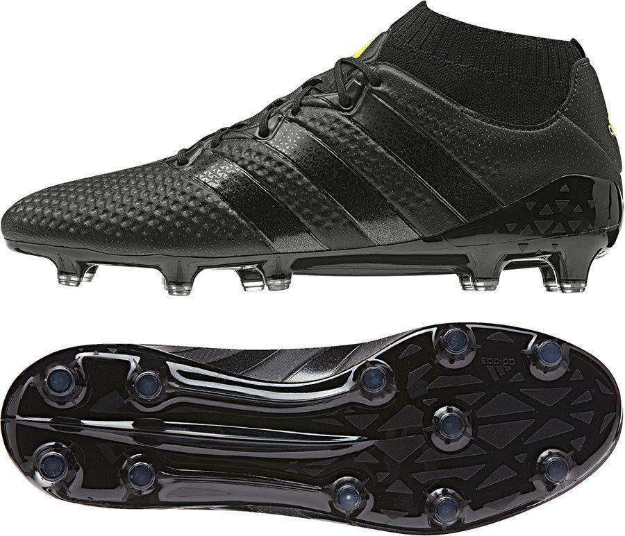 huge discount 1ec1f 68446 Adidas Buty piłkarskie ACE 16.1 Primeknit FG czarne r. 44 (S76471) ID  produktu: 1560075