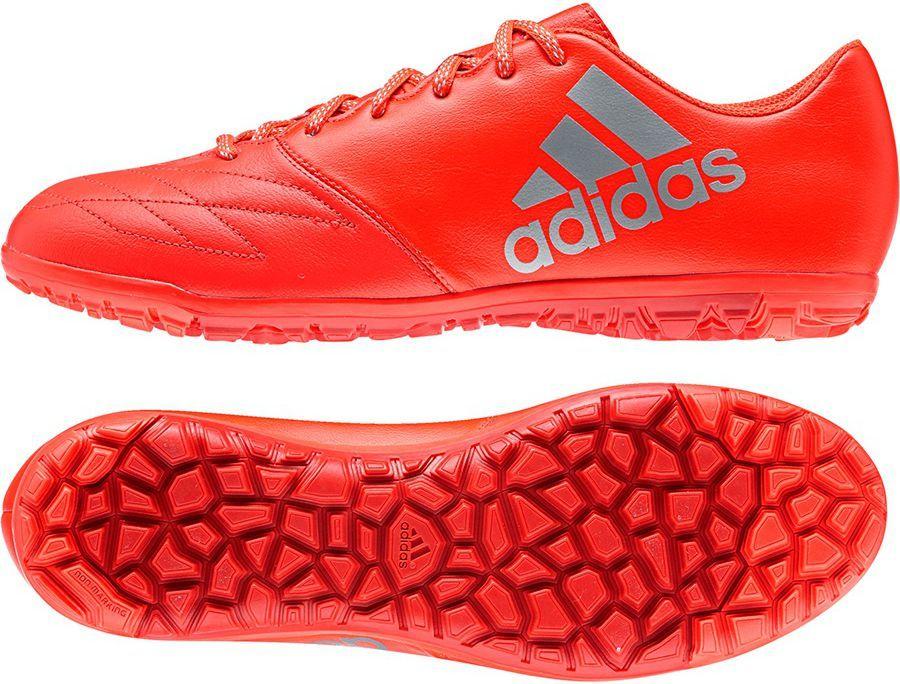 Adidas Buty piłkarskie X 16.3 TF Leather czerwone r. 40 23 (S79588) ID produktu: 1560104