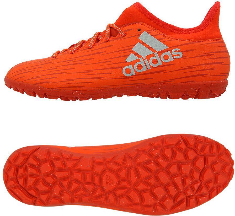 Adidas X 16.3 Court Czerwony