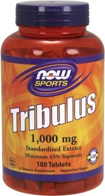 NOW Foods Tribulus 1000mg - 180 tabletek 1