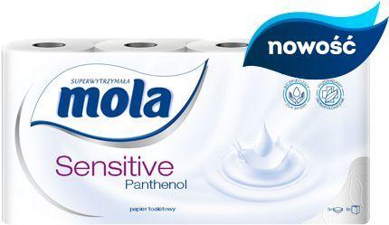 Mola Papier toaletowy Sensitive Panthenol 8 szt 1