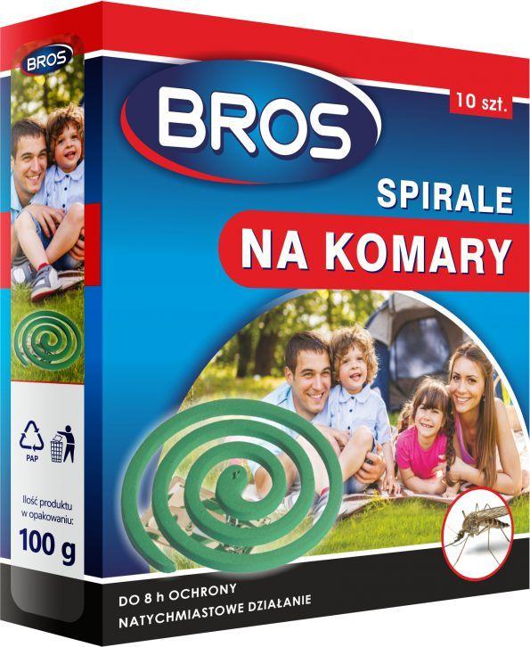 Bros Spirala na komary 10szt. 1