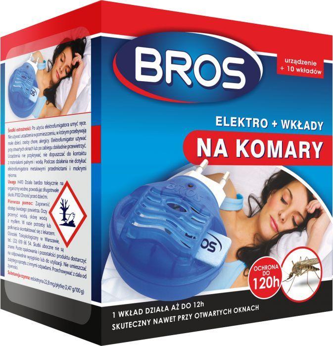 Bros Elektro + wkłady na komary 10szt. 1