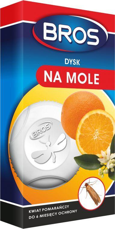 Bros Dysk na mole Kwiat pomarańczy 1