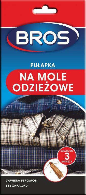 Bros Pułapka feromonowa na mole odzieżowe 1