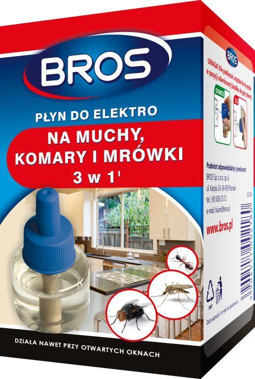 Bros Płyn do elektro na muchy, komary i mrówki 1