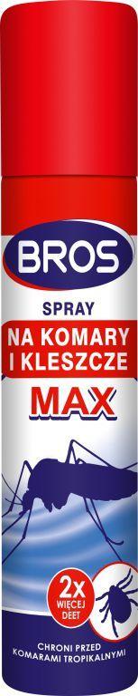 Bros Spray na komary i kleszcze MAX 90ml 1