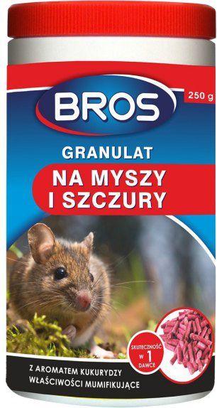 Bros Granulat na myszy i szczury 250g 1