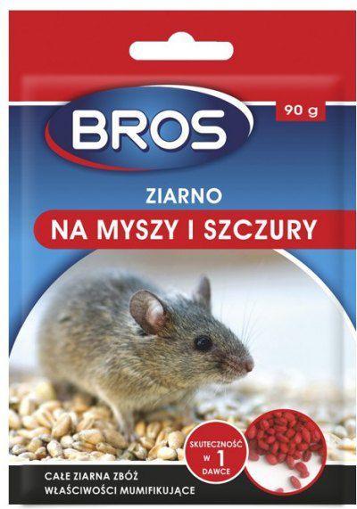 Bros Ziarno na myszy i szczury 90g 1